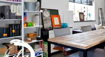 Using The Colour Black: An Inspiring Office Of Johannesburg Designer