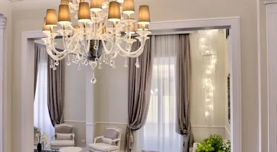 Classic Murano Chandeliers For Luxury Hotel In Florence
