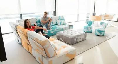 Diseño De Sofás Por Arquitectos De Interiores: Ciudad De México