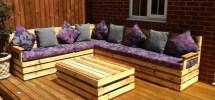 Garden Corner Unit Pallet Furniture Uk Homify