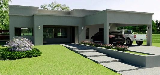 Casa Country Moderna de Rohe Arquitectura+ Diseño homify