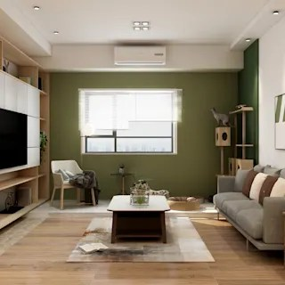 Living Room Middle Class Simple Interior Design