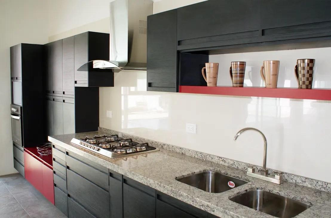 20 cocinas modernas con encimeras de mrmol y granito