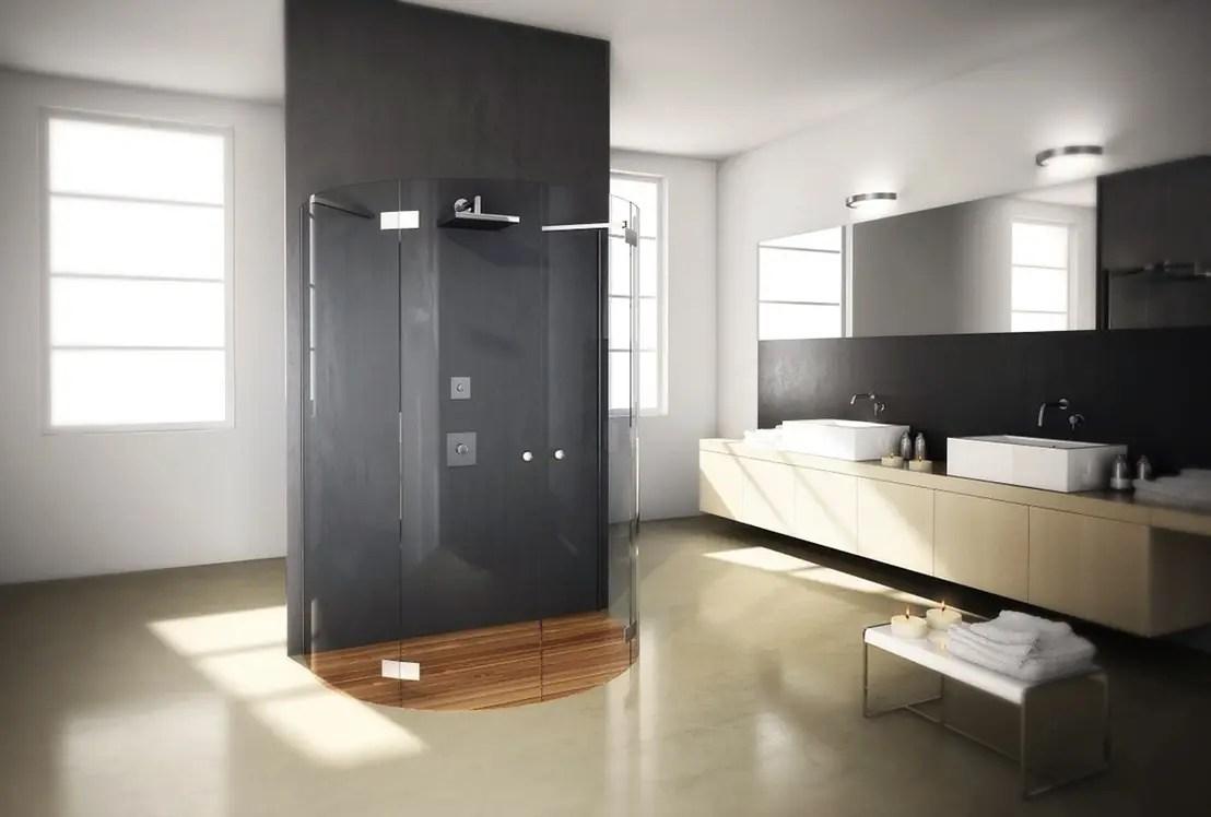 7 soluzioni per schermare la doccia con stile