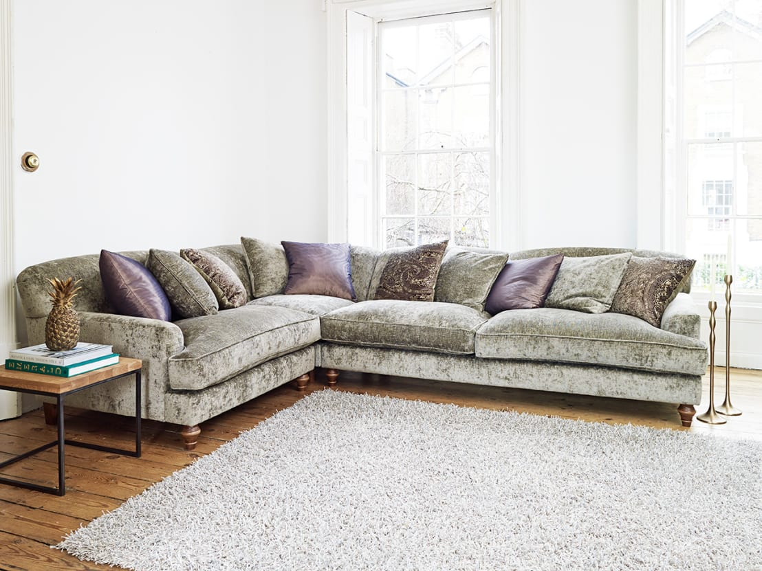 corner sofa bed west london gray studded sectional galloway de darlings of chelsea homify