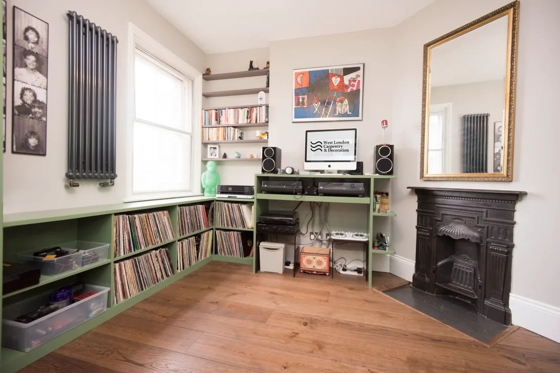 Hammersmith Music and Spare Room storage by West London