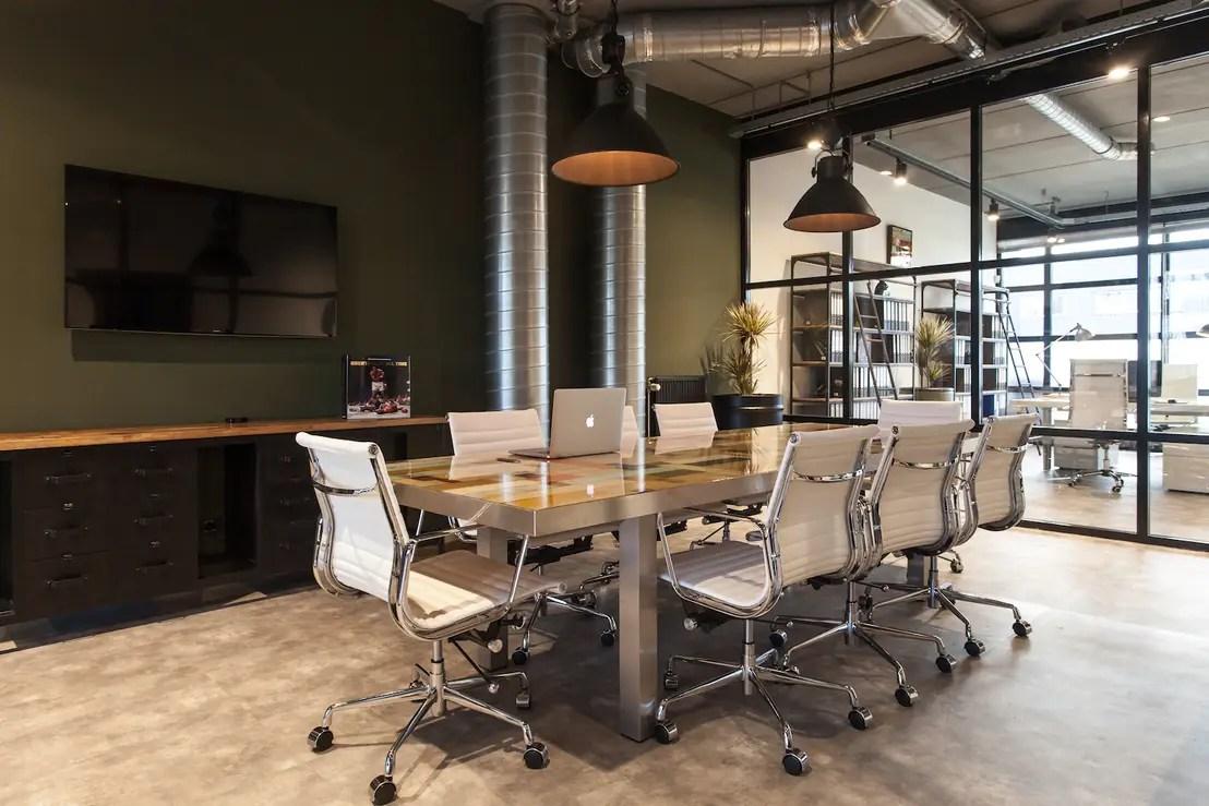 Industrile inrichting kantoor Nijmegen door Bob