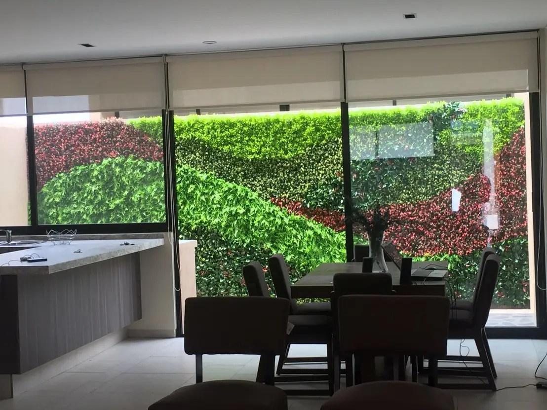 Muro verde de Arquitectura Orgnica Viviana Font  homify