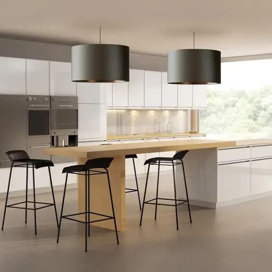Mooie verlichting voor in de keuken en woonkamer
