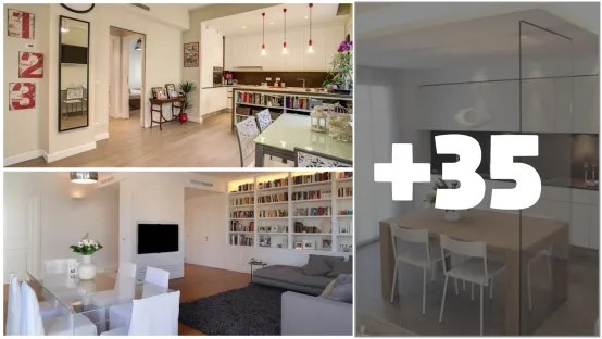 37 Idee su come Dividere Sala da Pranzo Soggiorno e Cucina