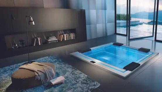 Traumhafter Luxuswhirlpool Für Drinnen & Draußen
