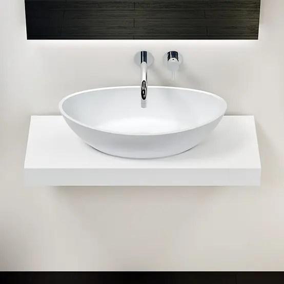 Stilvolle Mineralgusskonsolen Für Das Badezimmer