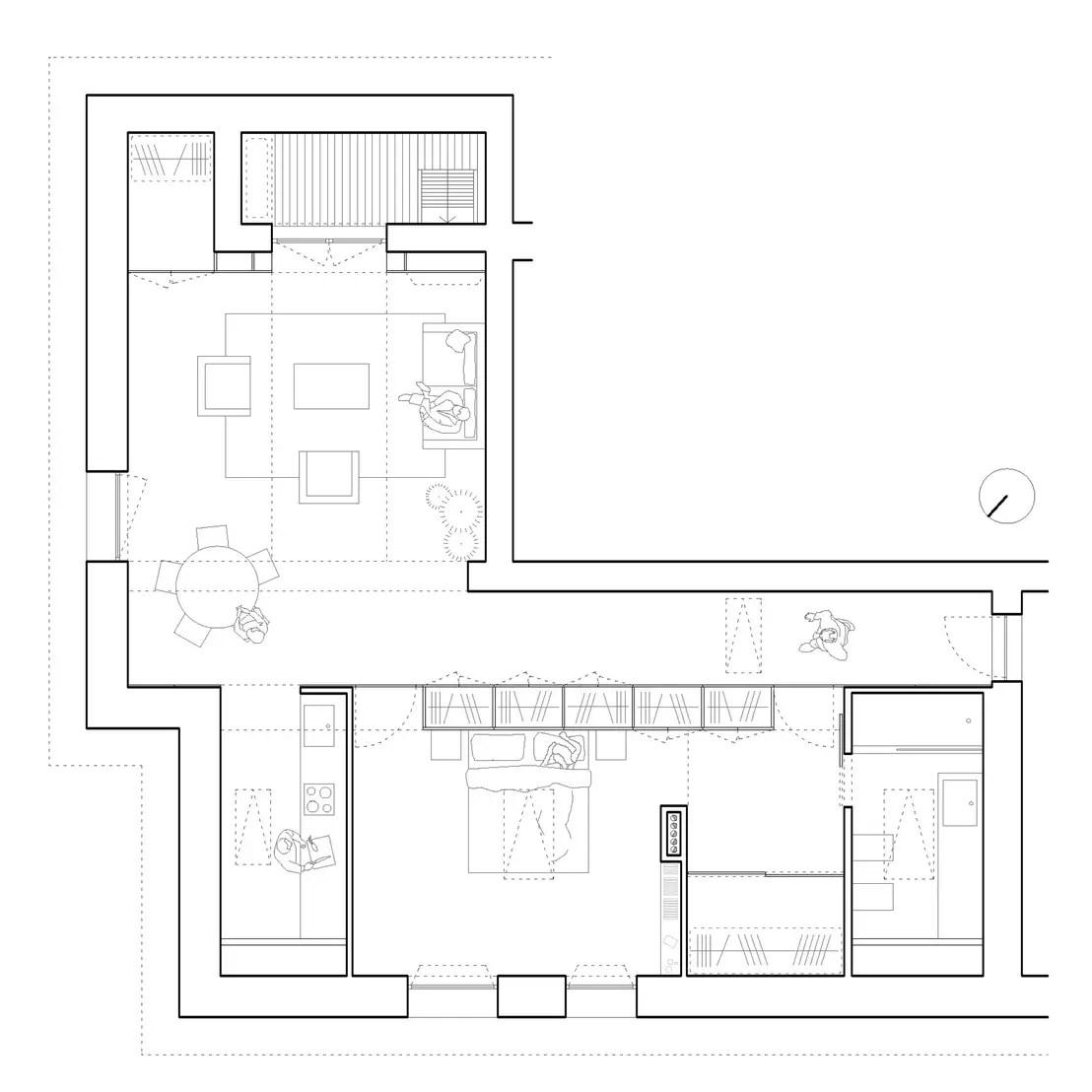 Come ristrutturare una soffitta di 75 mq