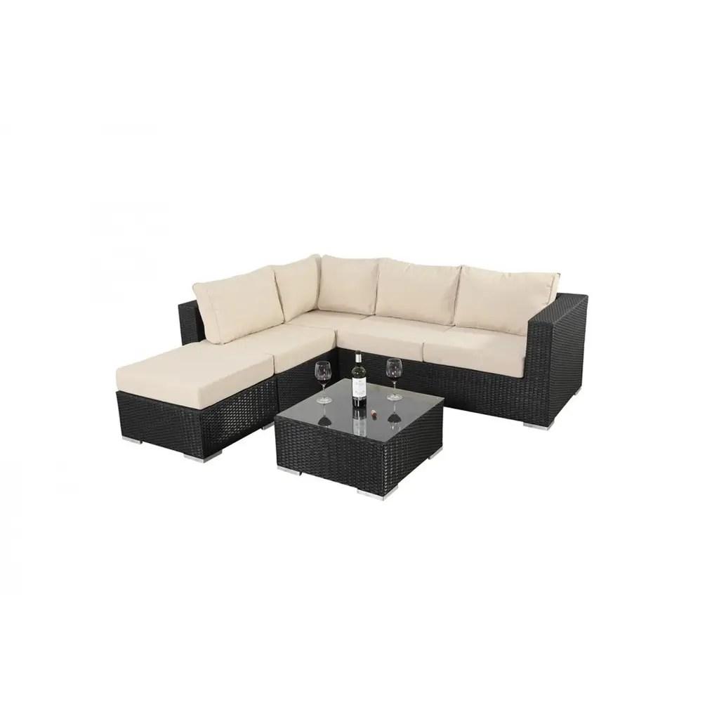 3 seater rattan effect mini corner sofa black 2 leather brown interior design ideas architecture and renovating photos