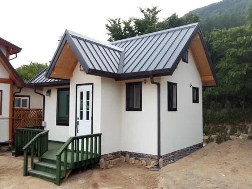 Mini-Haus: Wohnen auf 30 Quadratmetern