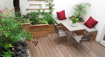 7 Seating Ideas For Small Gardens (your Guests Will Be Impressed)