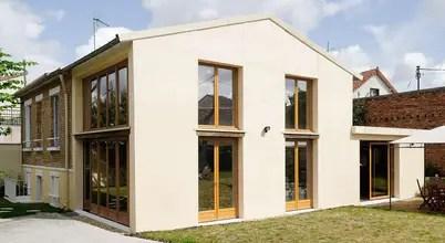Découvrez L'extraordinaire Réfection D'une Maison Et L'ajout D'une Extension à Colombes