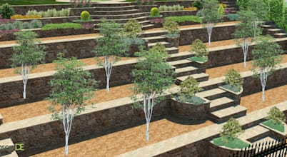 Eğimli Arazide Bahçe Düzenlemesi Için 8 Teknik