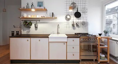 10 Great Ideas For Small Kitchens