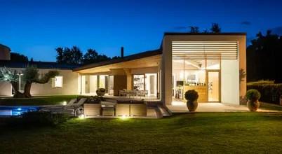 Casa Moderna In Legno In Veneto