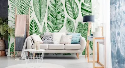 ​how To Correctly (and Stylishly) Wallpaper Your Living Room