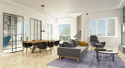 Progettazione E Ristrutturazione Appartamento 140 Mq A Roma