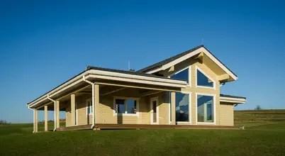 Проект деревянного дома с планировкой за 8,5 млн рублей