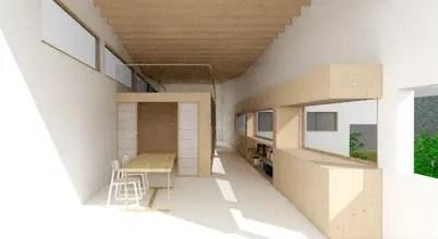 입체감 있는 철저한 설계, 판교 중목 구조 주택 계획안