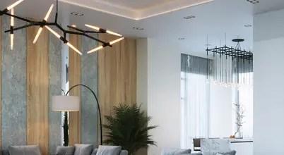 Дизайн интерьера частного дома в Москве