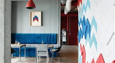 Дизайн интерьера кафе: 7 фото