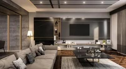Salones de estilo moderno de ANTE MİMARLIK Moderno