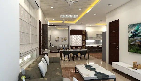 Interior Designs From An Apartment In Hyderabad