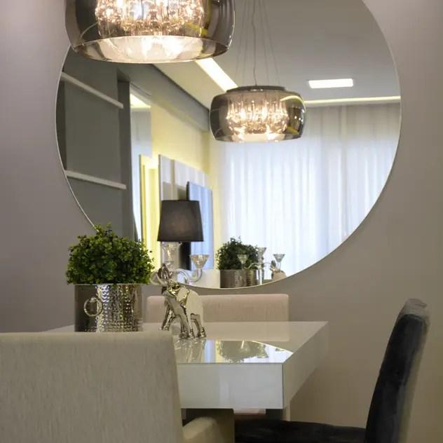 Apartamento área social: Salas de jantar modernas por Danielle Barbosa DECOR|DESIGN