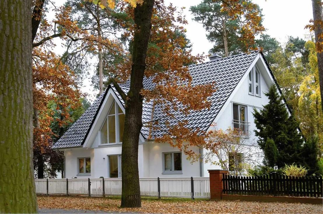 Die perfekte Farbpalette fr die Hausfassade