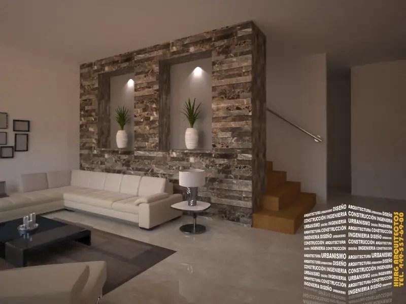 Para tu sala 15 ideas para revestir las paredes con piedra