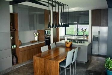 cocinas barra desayunadora cocina estilo arquitectura casa comedor industrial homify narda davila maravillosas industriales libros