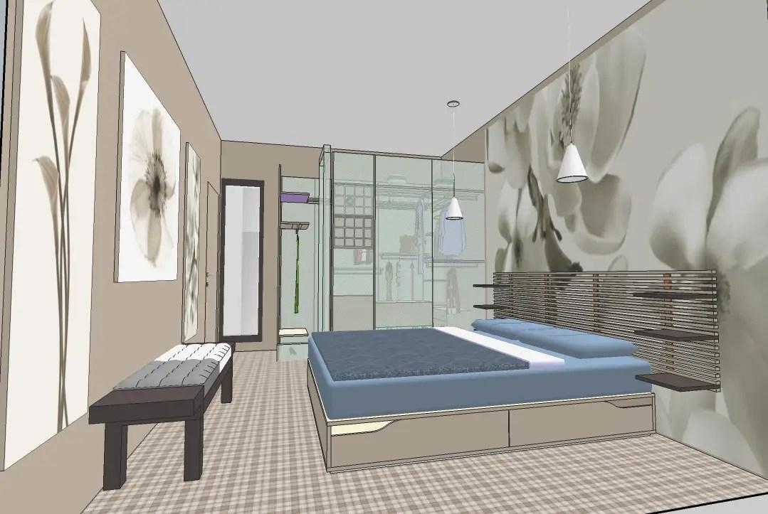 Camera Da Letto Armadio Camera da letto matrimoniale con armadio ad angolo di Mmisure armadio camera da letto consigli armadi