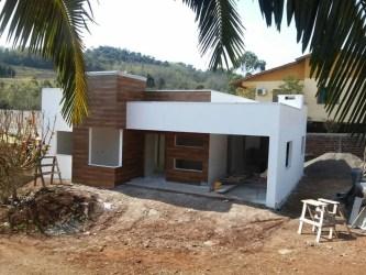 simples casa moderna casas modernas arquitetura claudia lana homify kunz projetos moderno