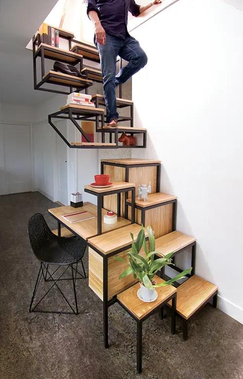 Desain Tangga Rumah Sempit : desain, tangga, rumah, sempit, Tangga, Ideal, Untuk, Rumah, Berukuran, Kecil, Homify