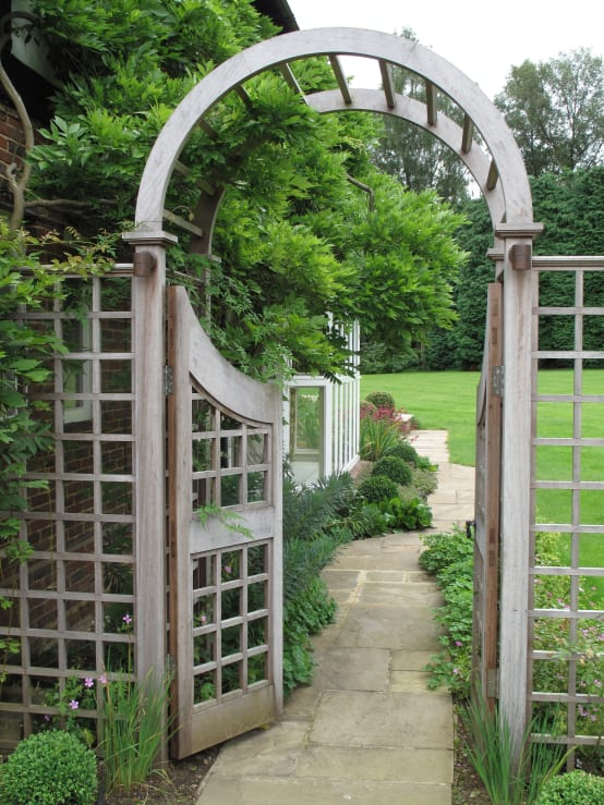 23 idees de clotures de jardin bon