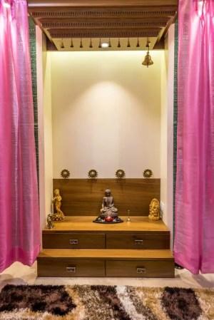 mandir temple pooja designs classic interior architecture puja bedroom homify istudio cabinet rooms residential prayer simple furniture open indian tfod