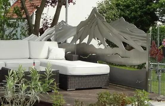 Schöne Gartenzäune, Tore Und Sichtschutz Aus Edelstahl