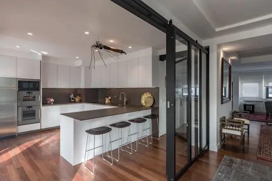 6 excelentes ideias para separar a cozinha da sala