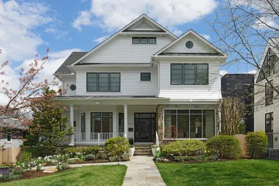 Magnificent House Renovation Through Fire Restoration In Chevy Chase