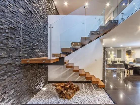 Dos Para De Escaleras Disenos Pisos De Casas