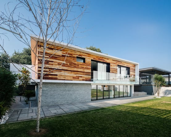 A Home That's Modern Inside And Out