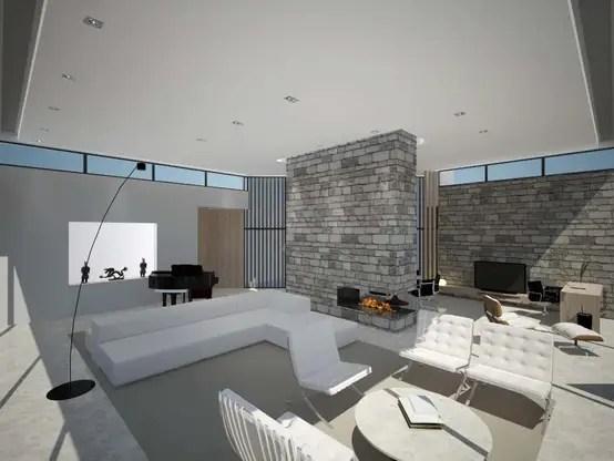 El Diseño De Una Casa Moderna En Madrid
