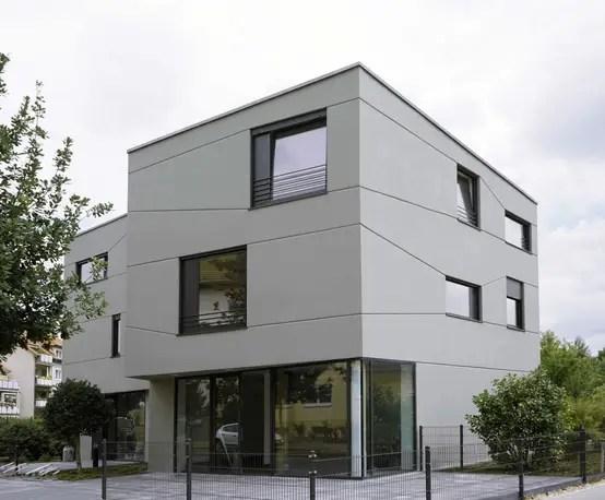 Wie Dieses Wohnhaus Mit Gewerbefläche Perfekt In Die