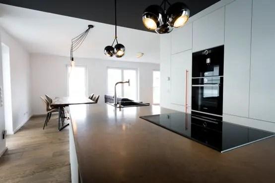 Einfamilienhaus Mit Moderner Innenarchitektur In Düsseldorf