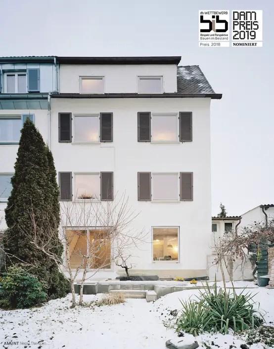 Modernisierung Eines Reihenendhauses In Stuttgart